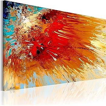 murando handgemalte bilder auf leinwand abstrakt 90x60 cm 1 teilig 100 unikat gem lde. Black Bedroom Furniture Sets. Home Design Ideas