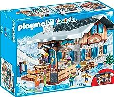 Playmobil Chalet avec skieurs, 9280