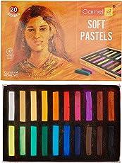 Camlin Kokuyo 20-Shade Soft Pastel Set
