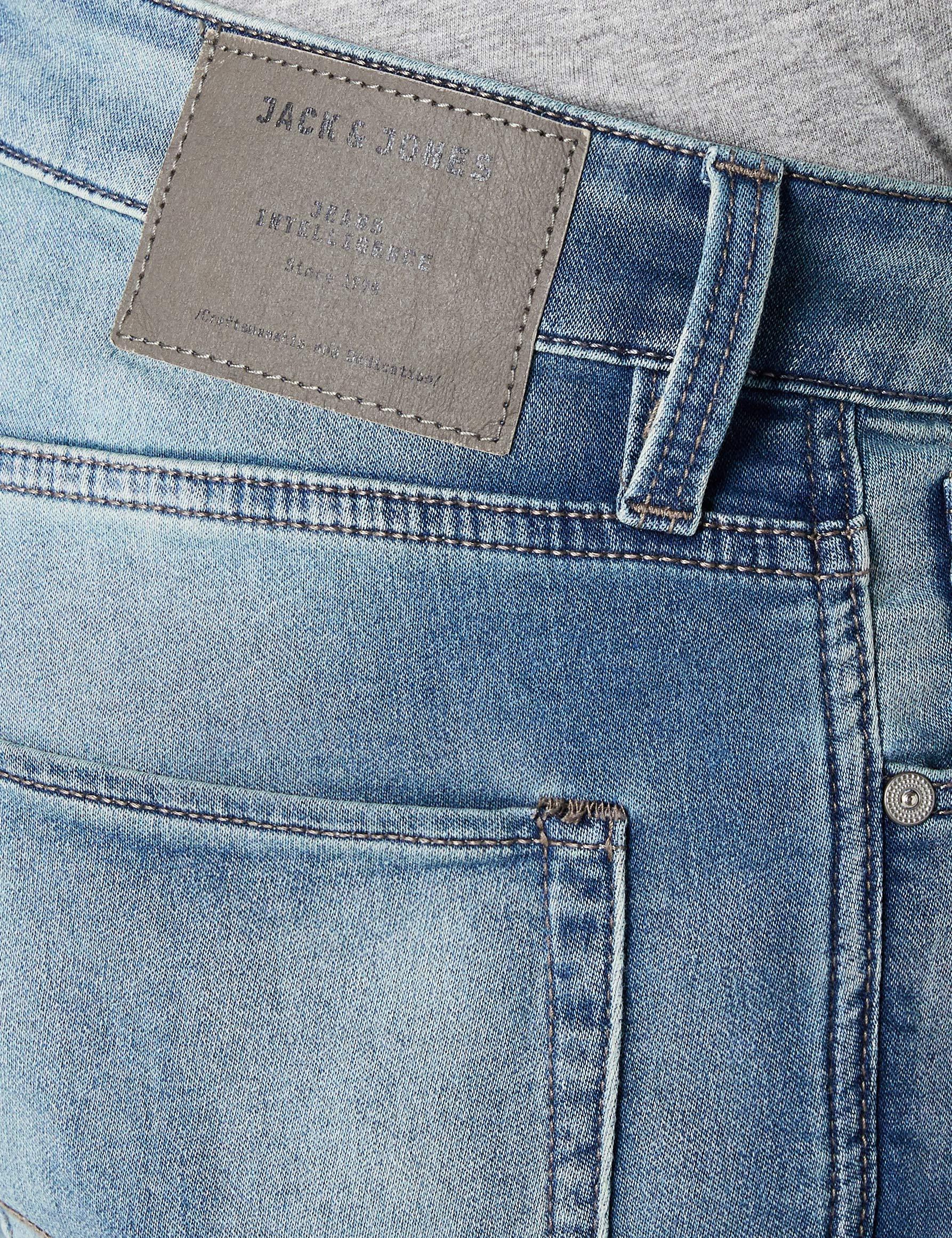 c22238726376 JACK   JONES Herren Shorts JJIRICK JJICON GE 797 I.K. STS, Blau Blue Denim,
