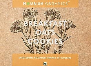 Nourish Organics Break Fast Oats Cookies, 150g