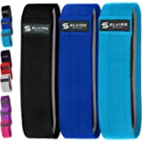 ELVIRE Resistance Bands, Booty Bands (3 Pack), Fabric Resistance Bands Set for Women/Men, Exercise Bands for Glutes…