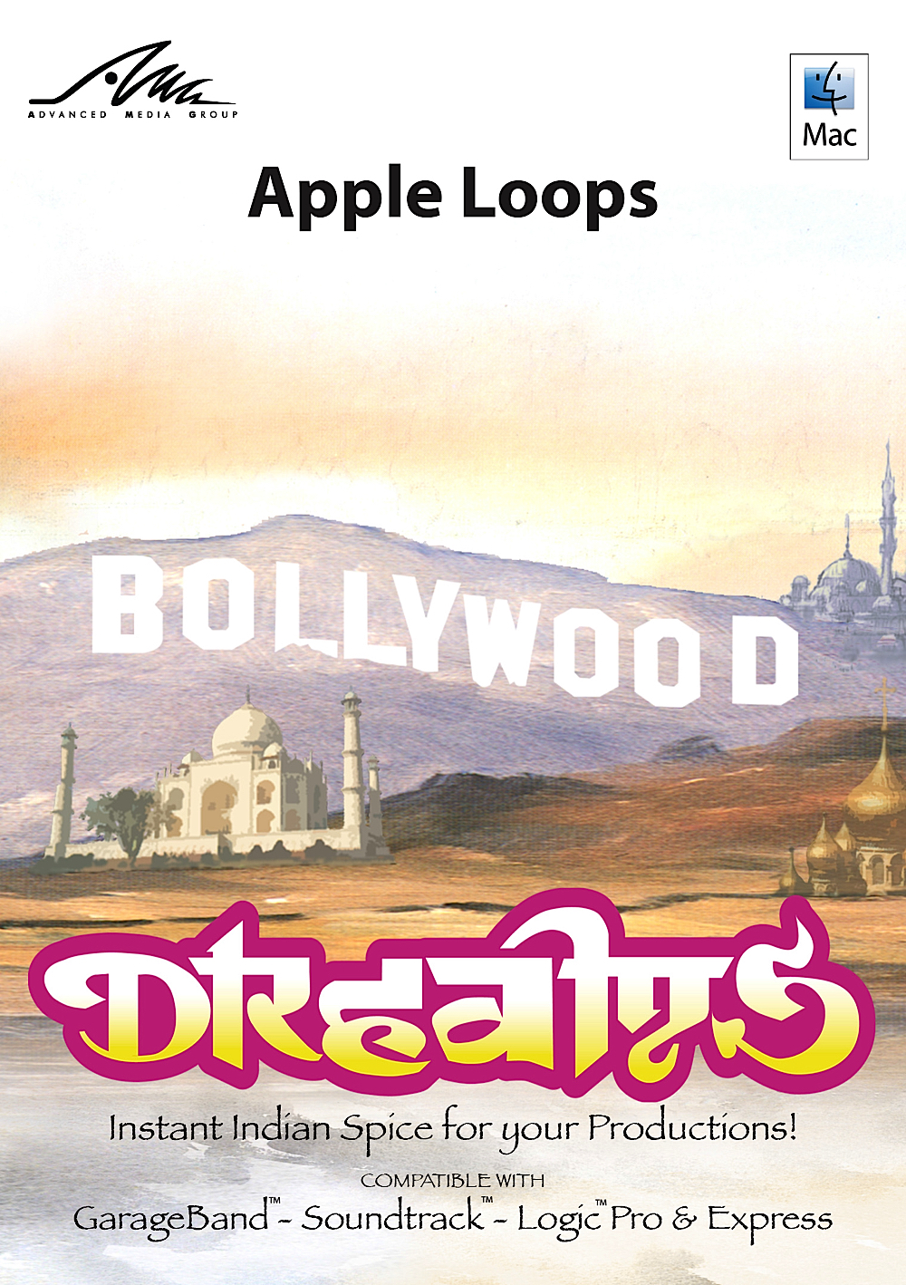 Bollywood Dreams - Neue Ethnische Fusion Apple Loops für GarageBand [Download] Garageband Download