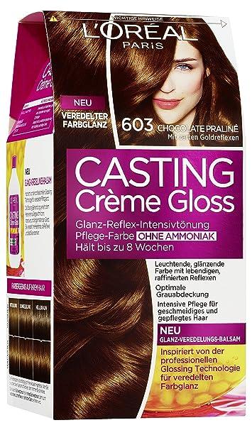 L'Oréal Paris Casting Creme Gloss 603 Chocolate Praliné: Amazon.De