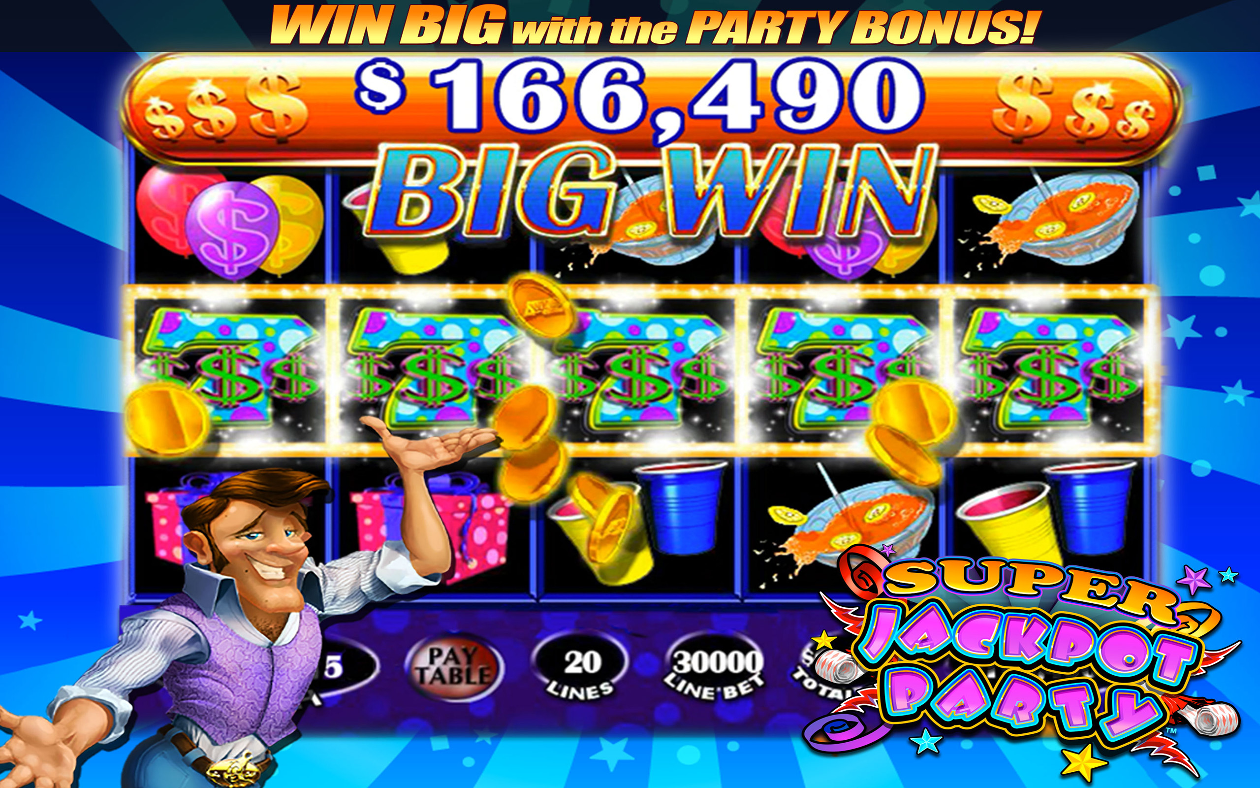 Jackpot Party Casino Slots Free Vegas Slot Games Hd