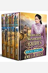 Montana Westward Brides Box Set: Books 1-4: Mail Order Bride Historical Western Romance Kindle Edition