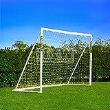 FORZA 1,8m x 1,2m But de Football PVC Imperméable avec Système de 'Verrouillage' (Mur de Tir, Sac de Transport & Ballon en Op