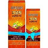 Navratna Ayurvedic Warm oil for head and body massage, 300ml
