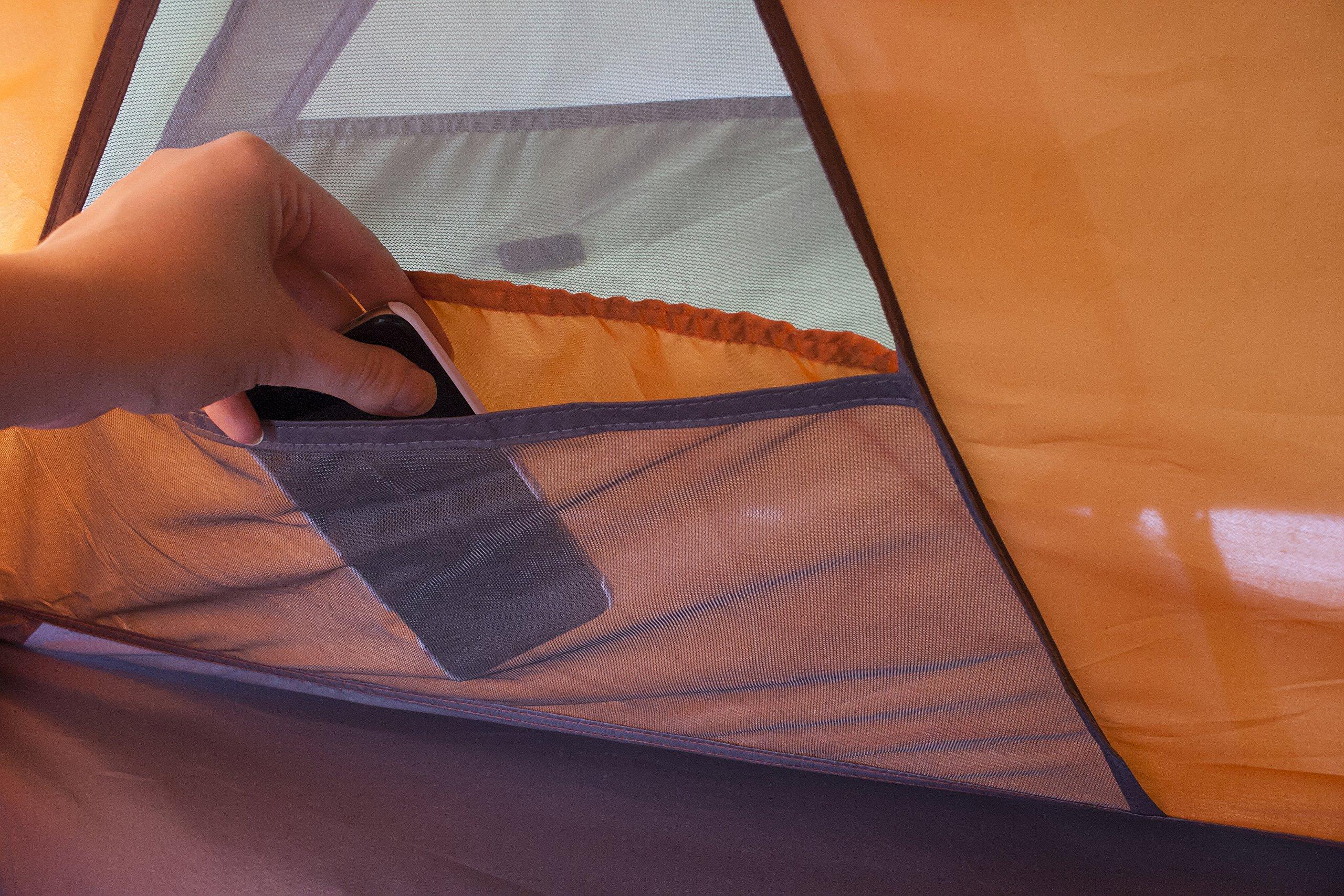Vango Hydra Trekking Tent, Cactus Green, 200 5