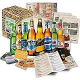 Bier Geschenk Set mit ausländischen Bieren - Geburtstagsgeschenk für Freund, Geburtstagsgeschenk für Männer oder lustige…