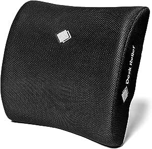 Cuscino di supporto lombare - Supporto lombare per alleviare e prevenire il dolore nella parte bassa della schiena - Per sedia da ufficio, auto, casa - Include app Sit Healthy e borsa da viaggio