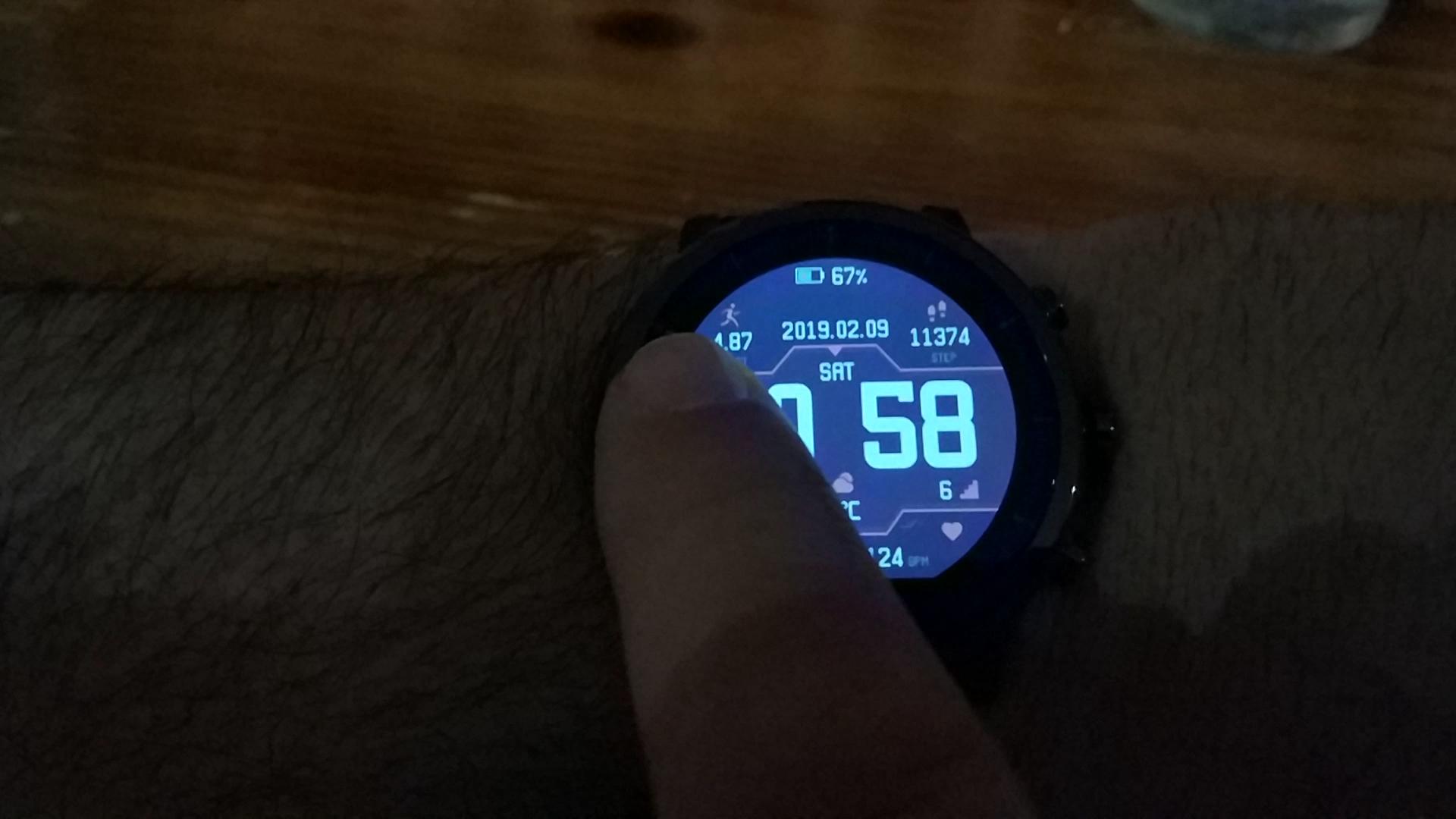 Xiaomi Amazfit Stratos 2 Smartwatch Reloj Inteligente Deportivo con GPS Bluetooth Pantalla Táctil Monitor de Ritmo Cardíaco 5ATM Impermeable Versión ...