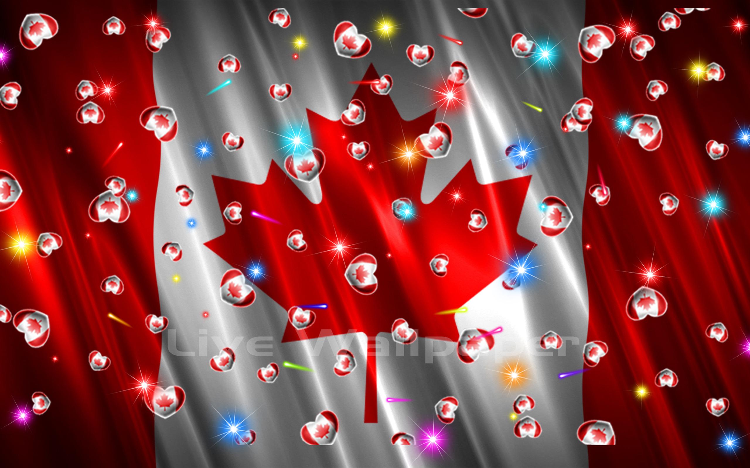 Canada Flag Heart - 6