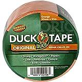 Duck Tape Origineel, plakband, oranje, 50 mm x 25 m verbeterde formule, zeer sterk, waterdicht gaffer- en kanaaltape, reparat