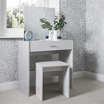 Ikea Malm Dressing Table White 120x41 Cm Amazon Co