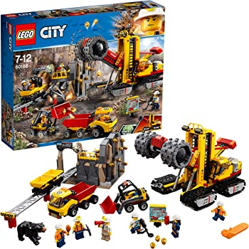 Lego City Mining Macchine da Miniera, 60188