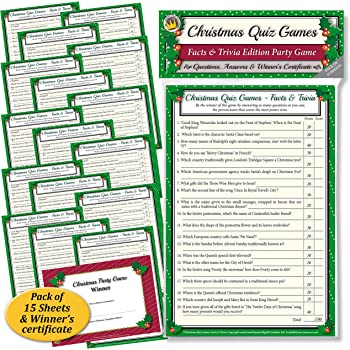 christmas quiz games facts trivia party game for family office xmas parties - Christmas Trivia Facts