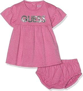 2d9e981ebff5 Guess Baskets Bébé Fille Filona Rose  Amazon.fr  Chaussures et Sacs