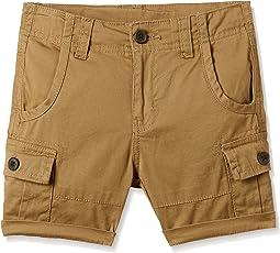 Cherokee Boys' Regular Fit Cotton Shorts