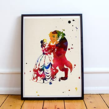 plate to frame beauty and the beast nacnic what to give your - What To Give Your Girlfriend For Christmas