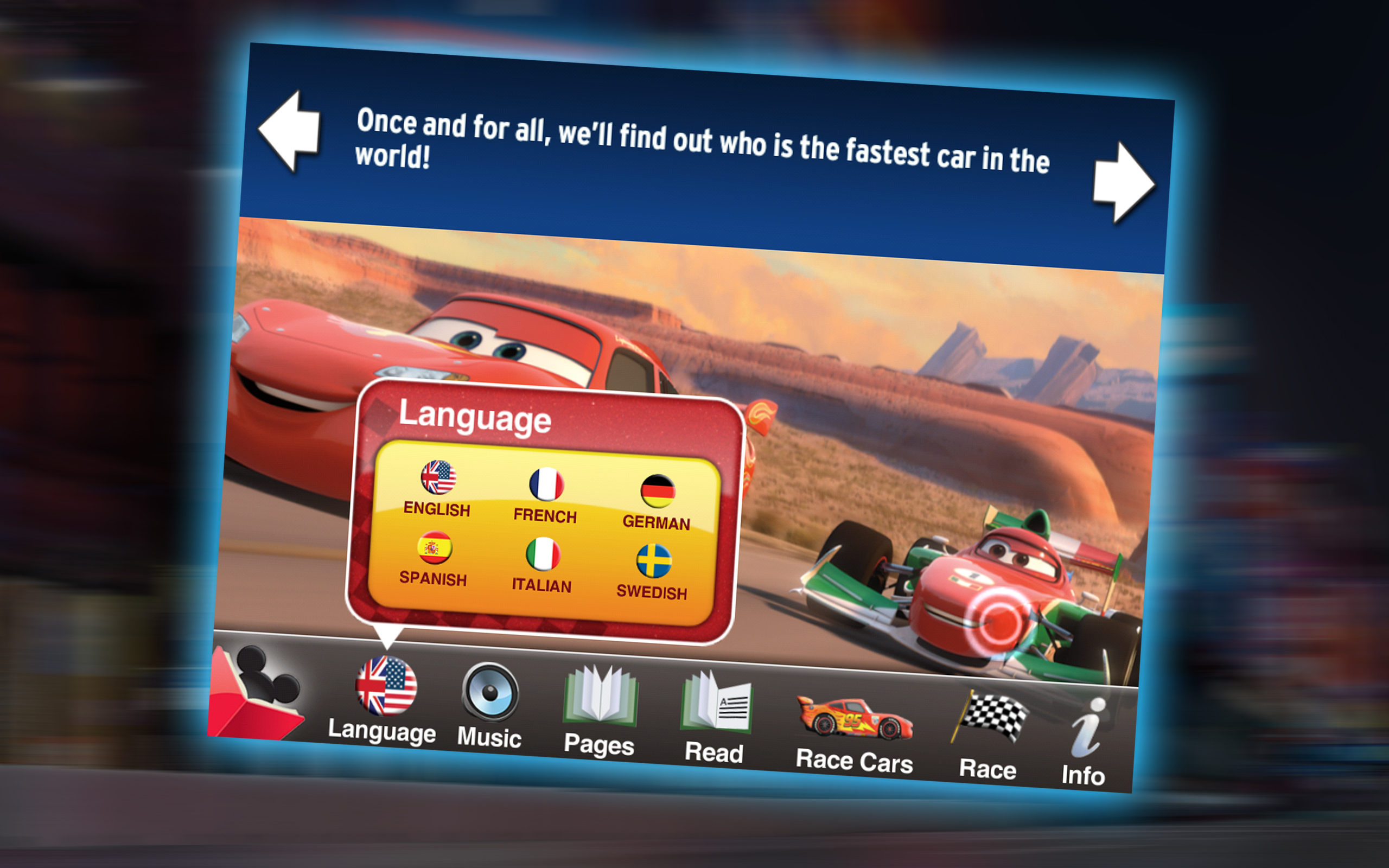 disney cars 2 app for android
