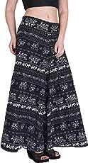 Myshka Women's Crepe Regular Fit Printed Palazzos