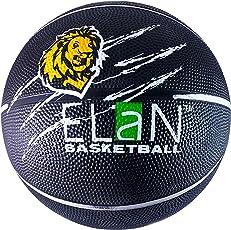 Elan PB-7-001 Basketball, Size 7 (Black)