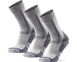 Outdoor Walking Socks in Merino Wool for Men Women & Children, Hiking & Trekking, Work, Calf, Boots, Anti-Blister Padding & O