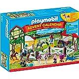 PLAYMOBIL 9262 Advent Calendar Horse Farm, For Children Ages 4+