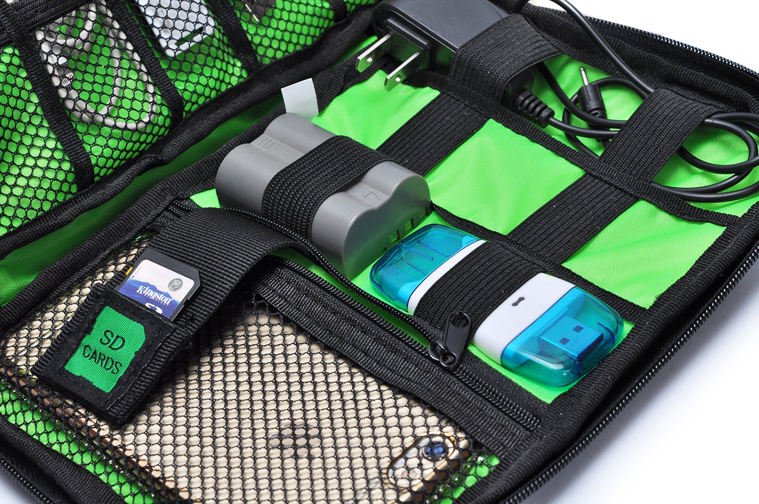universal electronics accessoires de voyage organisateur//hard drive case//c/âble organiseur,Bleu Jamber electronics accessoires sac de transport//organiseur de c/âble avec c/âble cravate