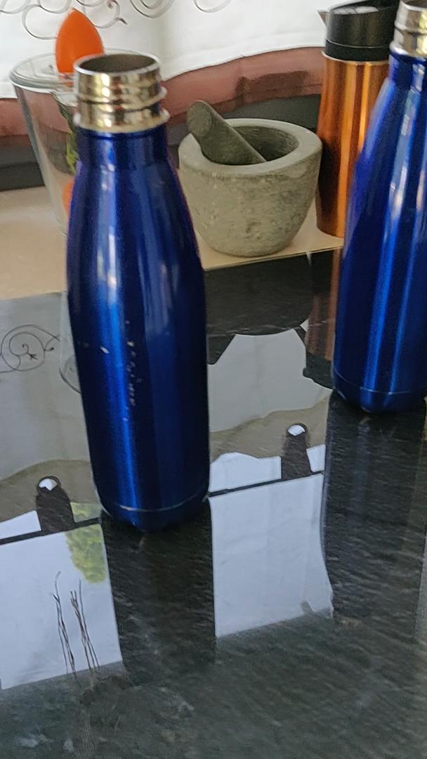 ZUSERIS Botella Aislada al Vacío de Acero Inoxidable Portátil ...