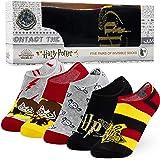 HARRY POTTER Regalos, Calcetines Tobilleros Mujer, 5 Pack de Calcetines Invisibles Mujer, Regalos Originales Para Mujer