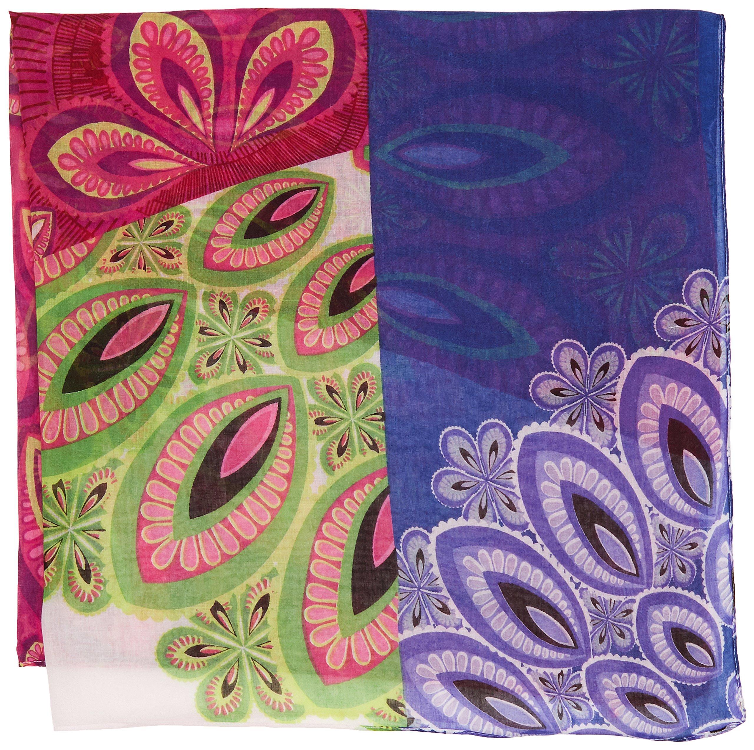 Desigual Pañu_malayo Pañuelo, Rosa (Fresa 3001), Talla única (Talla del fabricante: U) para Niñas