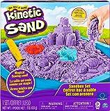 Kinetic Sand 6024397 - Sandbox mit 454 g Kinetic Sand, farbliche Varianten