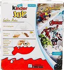 Kinder Joy Chocolates for Boys, 24 Pieces X 20g = 480g.