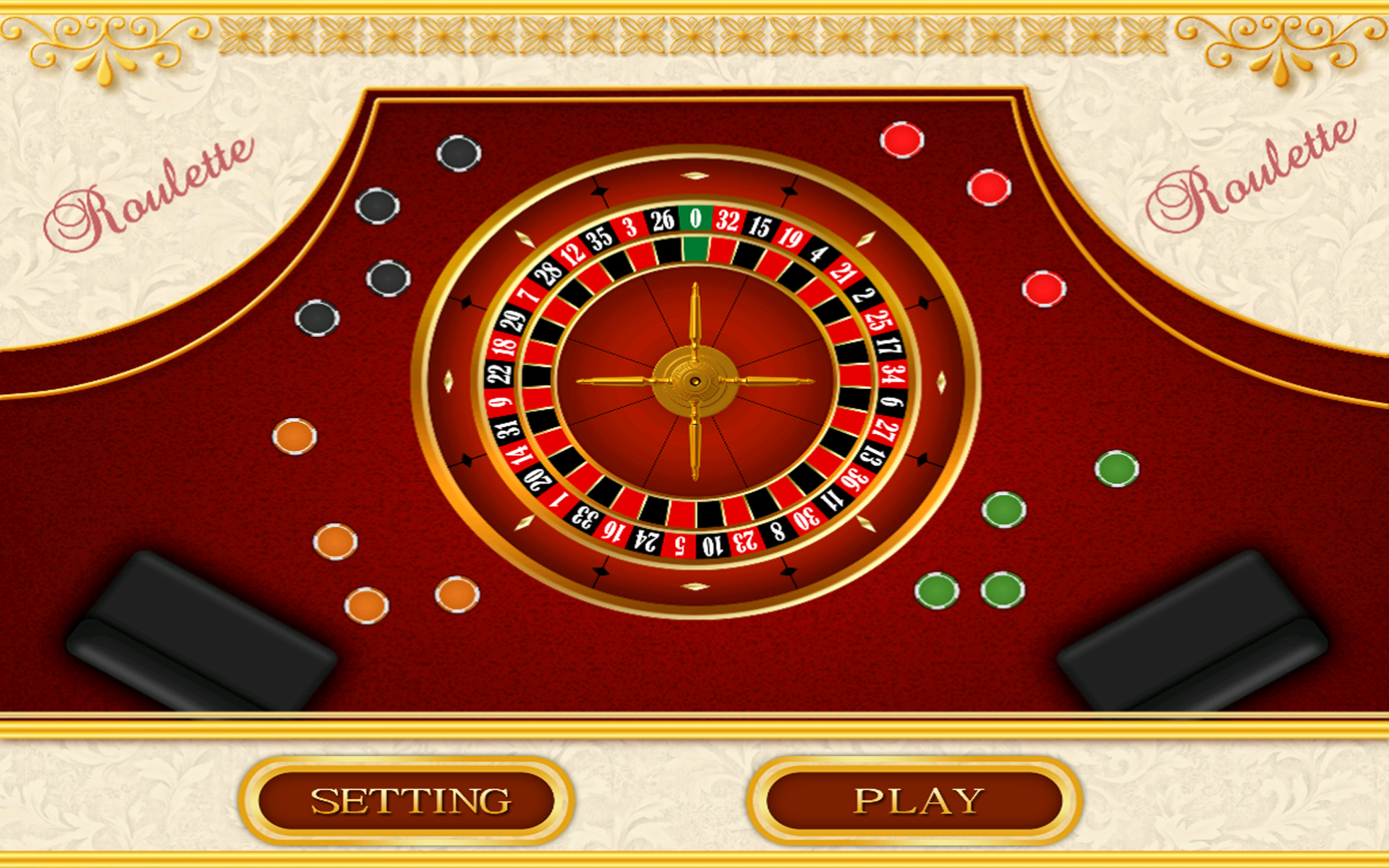 Roulette 4 Hrg 4: Roulette Board Game: Amazon.co.uk