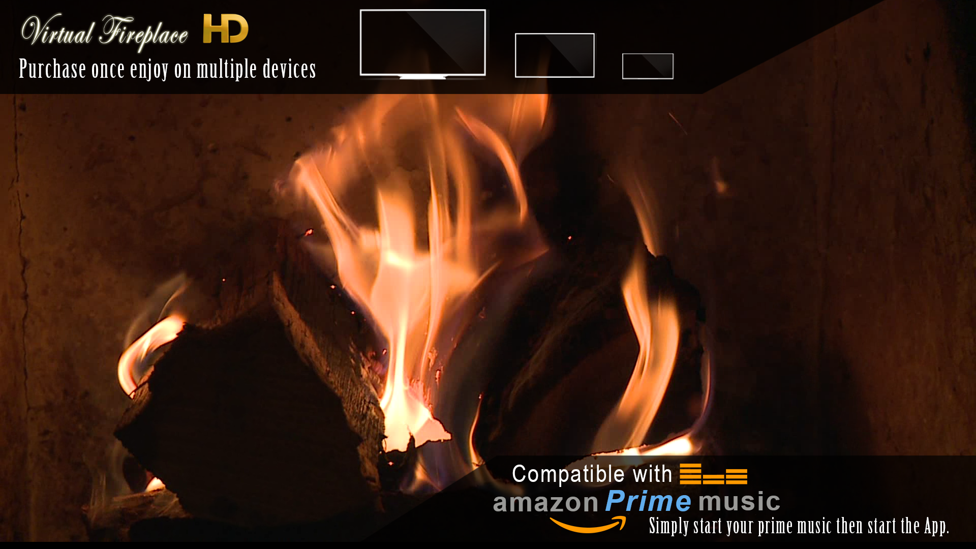 virtual fireplace amazon co uk appstore for android