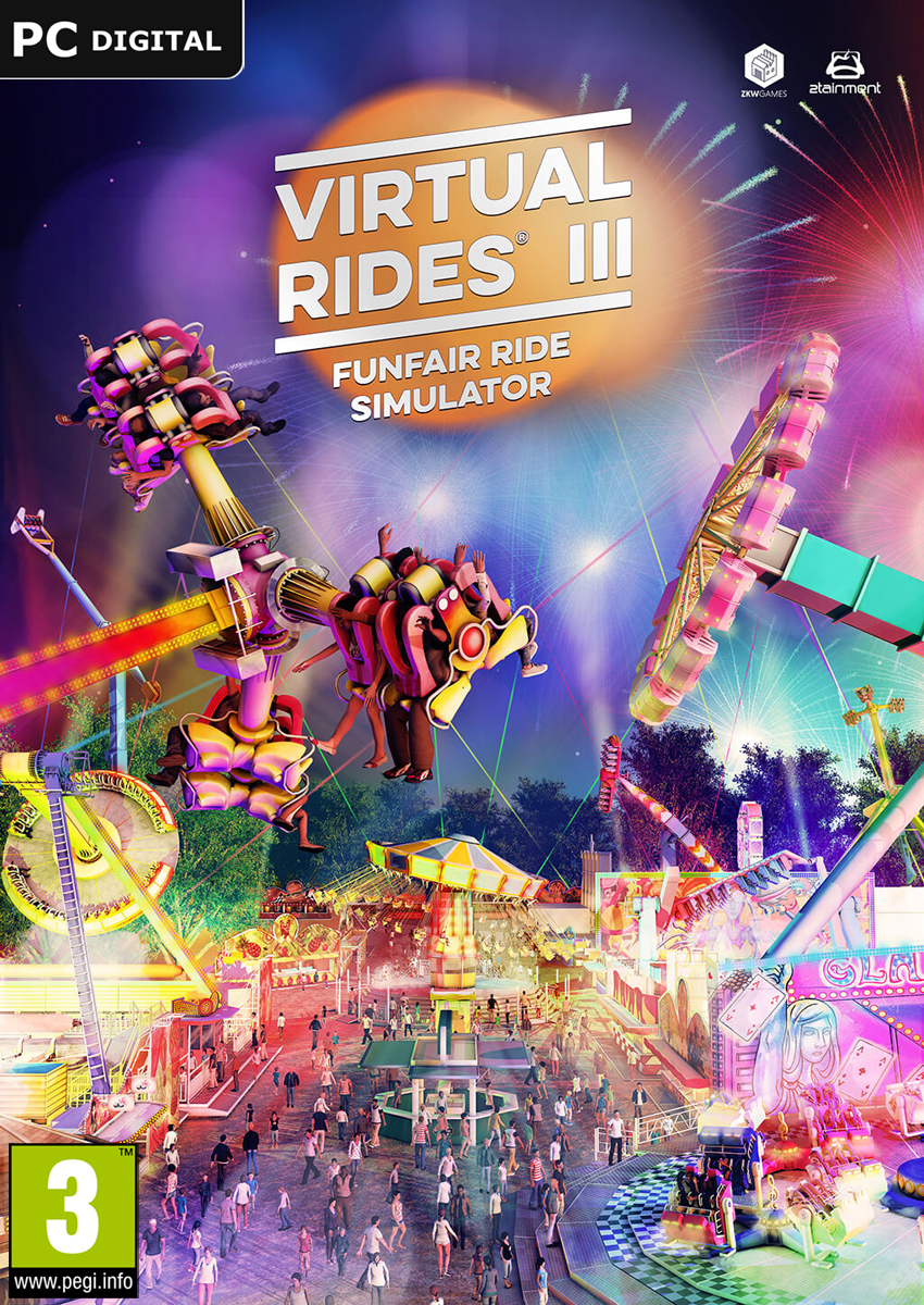 Price comparison product image Virtual Rides 3 - Funfair Simulator [PC/Mac Code - Steam]
