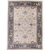 Carpeto Rugs Tapis Salon Beige Clair 180 x 250 cm Oriental/Ayla Collection