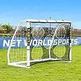 FORZA Fotboll målvaktduk [9 Storlekar] | Fotbollsutrustning – Målduk för prickskytte | Avtagbara träningsnät för målskytte |