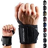 Fitgriff® Muñequeras Crossfit, Gym, Deportivas, Musculación, Gimnasio, Calistenia, Wrist Wraps - Mujeres y Hombres