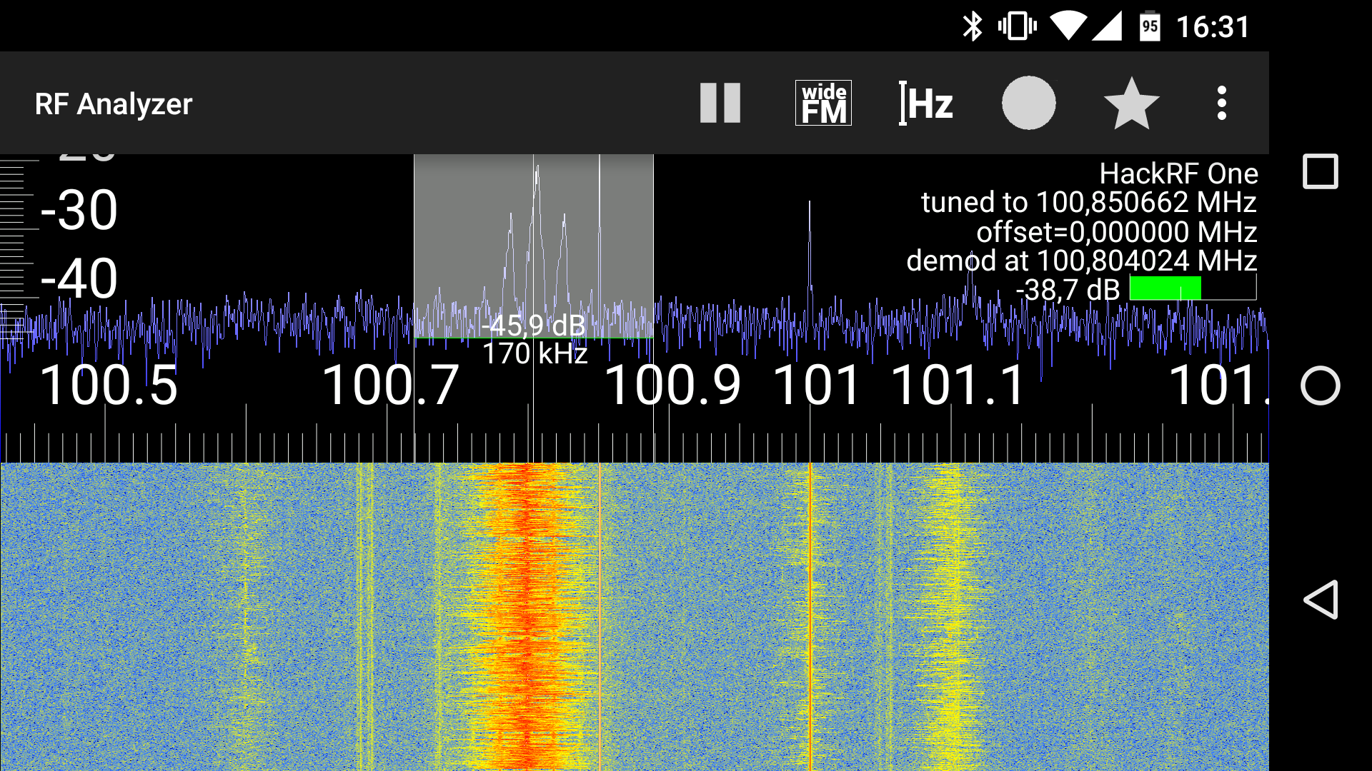 RF Analyzer: Amazon co uk: Appstore for Android
