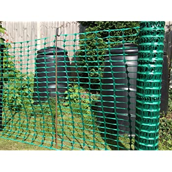 Heavy Duty 7kg Green Plastic Mesh Safety Barrier Fence