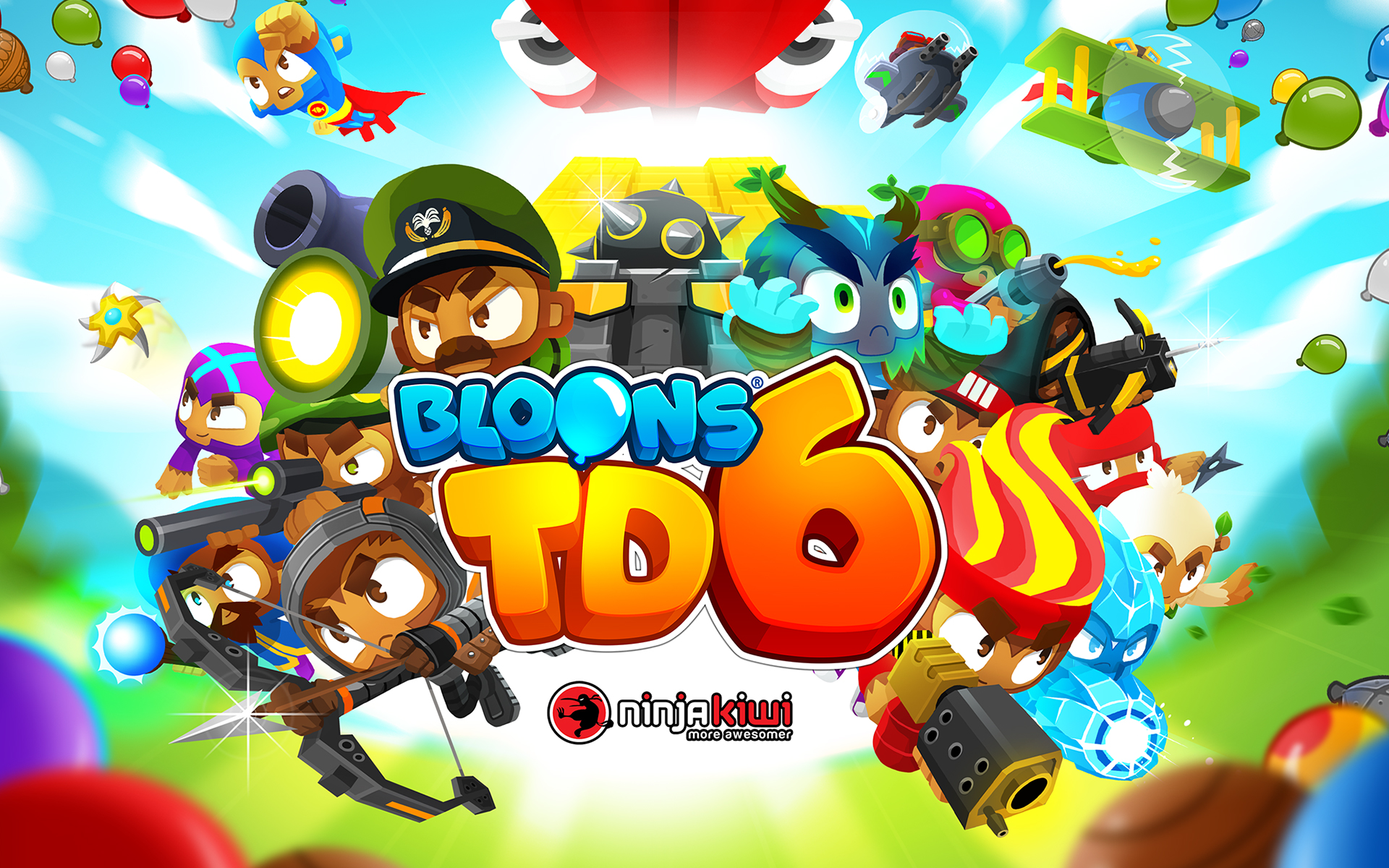 Bloons Super Monkey 2 - Ninja Kiwi - Free Online Games ...