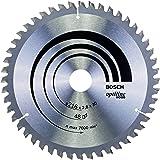 Bosch Professional Cirkelsågblad Optiline Wood (för trä, 216 x 30 x 2,8 mm, 48 tänder, tillbehör cirkelsåg)
