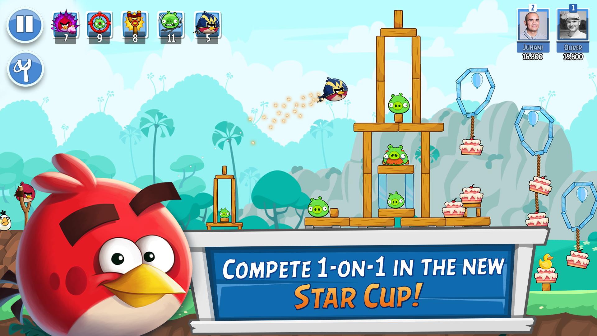 Angry Birds Friends Screenshot