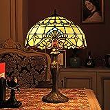 Gweat 16-Pouce Baroque Européenne Tiffany Lampe De Table Chambre Lampe Lampe De Chevet