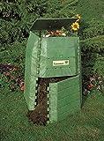 Hochwertiger Thermokomposter aus dickwandigem Kunststoff für Küchen- und Gartenabfälle – Umweltschutzpreis Gewinner…