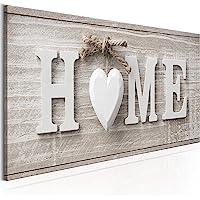 murando - Home Impression sur Toile intissee 90x30 cm Tableau Tableaux Decoration Murale Photo Image Artistique…