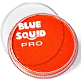Blue Squid PRO Face Paint - Classic Orange (30gm), Professional Water Based Single Cake, Face & Body Makeup Supplies for…